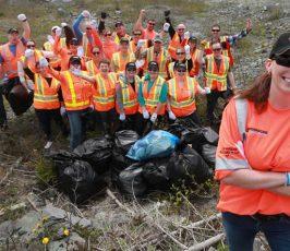 Pennecon staff volunteers for environment week